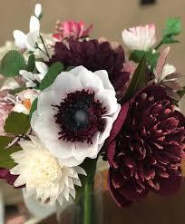 Paper Flower Bouquet Etsy Bridal Bouquet Paper Flower Bouquet