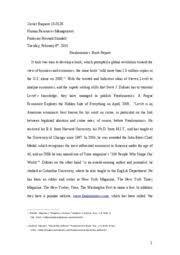 economics of human behaviour essay freakonomics martyna 5 pages trabajo freakonomics book report print