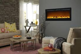 full image for touchstone sideline recessed electric fireplace with heater black corner entertainment center slater mantel