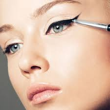 for an ultimate party look let s do cat eyes to be more and mysterious with gel eyeliner start from the inner of lashes to make the lines thick