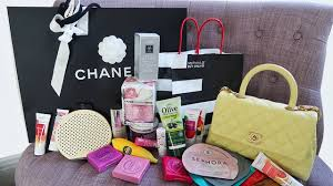 my 3k vacation haul chanel sephora nuxe