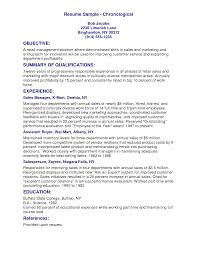 Customer Service Resume Summary Examples Resume Example Example Of