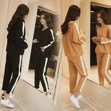 New Korean Fashion Casual <b>Slim Women's Set</b> Wear Student ...