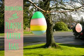 easy decorating with plastic easter eggs