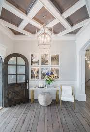 wood ceiling lighting. Coffered Pastel And White Wooden Ceiling Wood Lighting O