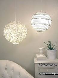ikea flower light ikea paper flower chandelier diy coffee filter light fixture