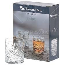 <b>Стакан стеклянный Pasabahce</b> Таймлесс 52810B, 4 шт, 205 мл в ...