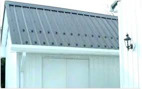 metal siding canada aluminum corrugated piney flats paint roof colors snow guards for roofs
