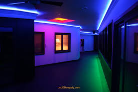home led accent lighting. hallway accent lighting with rgb flexible led strips and 4 zones of color home led