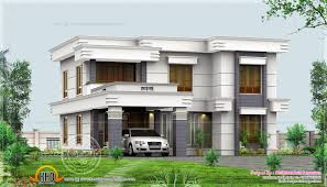 design style flat roof flat house