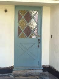 our 1950 s retro front door is