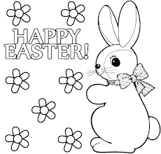 coloring book easter bunnies pages pictures of bunny page bugs pdf