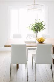white leather dining chairs. View Full Size White Leather Dining Chairs