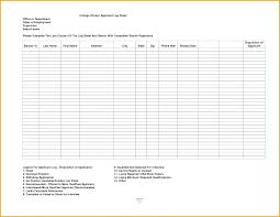Video Log Template Work Log Sheet Template Excel
