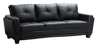 amazoncom homelegance blk dwyer sofa black vinyl fabric