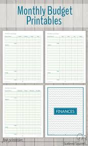 Family Budget Template Free 17 Brilliant And Free Monthly Budget Template Printable You