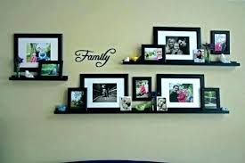 wall frame idea family picture wall decor frames collage using frame shelves ideas for large tree wall frame