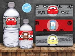The Party Project Cars 3 Party Printables Cars Birthday Set