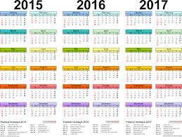 Word Template Calendar 2015 Template 1 Word Template For Three Year Calendar 2015 2016