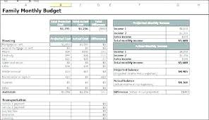 Family Budget Templates Excel Family Budget Spreadsheet Template Household Expense Spreadsheet