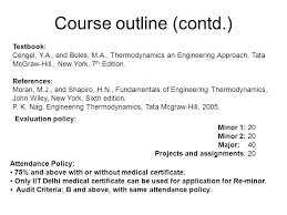 MEL140 Lectures 1 & 2. Course outline TopicNumber of Lectures ...