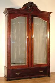mirror door armoire wardrobe and armoires on pinterest antique mahogany armoire