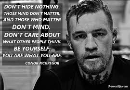 Mma Quotes Mesmerizing The 48 Best Conor McGregor Quotes MMA Gear Hub Feel Good