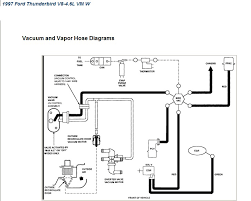where can i a vacuum hose diagram for my thunderbird i have doubled checked it and this is all thats listed i can opt out and see if someone else can come up something else