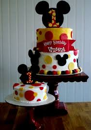 Baby Boy First Birthday Cake Mickey Mouse 1st In 2018 236334