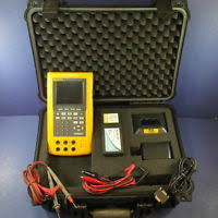 fluke 744 documenting process calibrator hart 275 fluke 744 documenting process calibrator hard case good condition extras