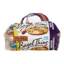 thomas bagel thins cinnamon raisin
