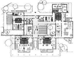 Реферат Проектирование оборудования для дошкольных учреждений  4 План детского сада для приходящих на день детей