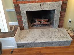 balthius granite fireplace