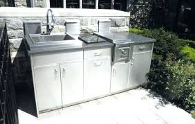 new age outdoor kitchen outdoor kitchen sink and cabinet stainless steel outdoor cooking area outdoor cabinets