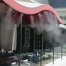 Misting System  Outdoor Cooling  Patio Misting  Industrial Backyard Misting Systems