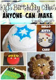 Kids Birthday Cake Ideas Coffee With Us 3