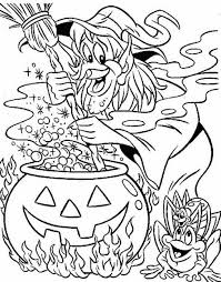 Small Picture Witch Halloween Coloring Pages Halloween Witch Coloring Pages for