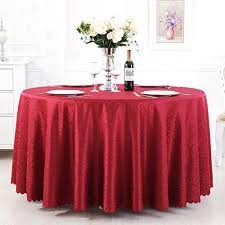 qiao jin tablecloth round tablecloth hotel banquet restaurant large round table cloth lint free easy to