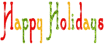happy holidays banner gif.  Banner Myspace Layouts Codes Glitter Graphics For Happy Holidays Banner Gif E