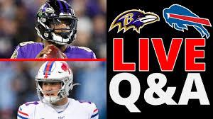 Ravens VS Buffalo Bills Live Q & A ...