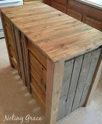 Marvelous How To Make A Pallet Kitchen Island For Less Than 50 Dollars, Diy, Kitchen