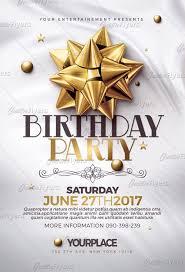 Birthday Flier Under Fontanacountryinn Com