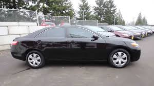 2009 Toyota Camry LE   Black   9R132069   Seattle   Renton - YouTube