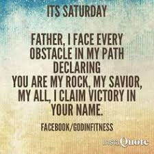 Saturday Christian Quotes