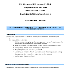 Resume Sample For Nursing Job 60 Basic Er Nurse Job Description for Resume Nadine Resume 49