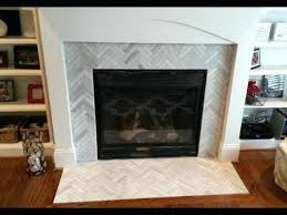 herringbone tile fireplace extraordinary design ideas marvelous surround makeover 1 x 6 ascend chevron honed tiles herringbone tile fireplace