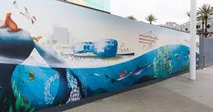 Aquarium Mural Design A Future Vision For The Aquarium Of The Pacific