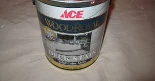 Ace Wood Royal Deck Stain Color Chart Ace Wood Royal Solid Color Latex Deck Stain Review House