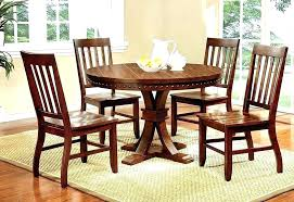 rustic round kitchen table rustic round en table dining room tables sets white country french set
