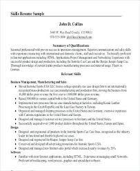 Summary Sample Resume General Resume Summary Examples General Resume